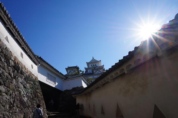 太陽とお城