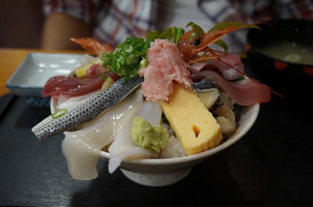 大盛り海鮮丼