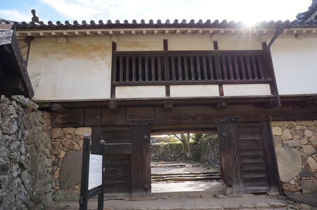 古めかしい門