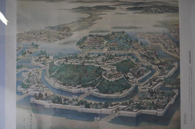 昔の彦根城周辺