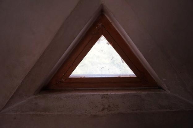ここにも三角窓