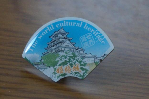 姫路城ピンバッジ