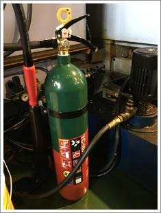 CO2消火器