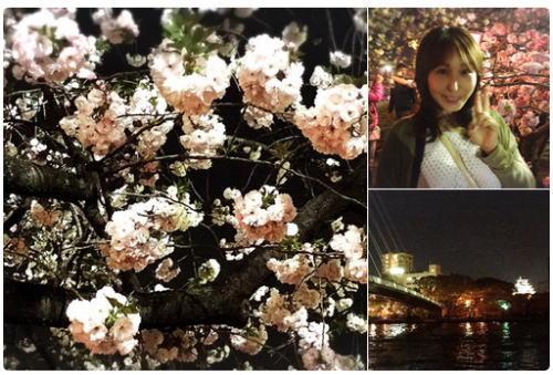 造幣局の通り抜け~~~ お花見へ行ってきました。