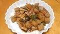 豚肉にんにく味噌煮 20160406