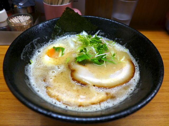 麺道部@01こってり鶏白湯らーめん 1