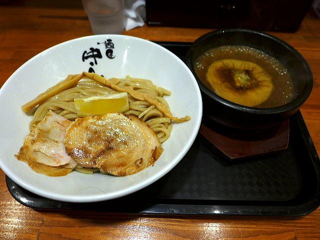 麺匠 中うえ@02濃厚つけ麺 1