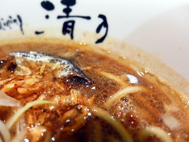 清乃 近鉄百貨店和歌山店@煮干しブラック 2