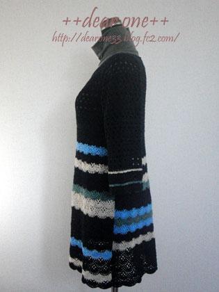 かぎ針編みチュニック151125_5