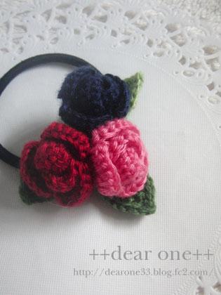 ちいさなお花のヘアアクセサリー160405_5