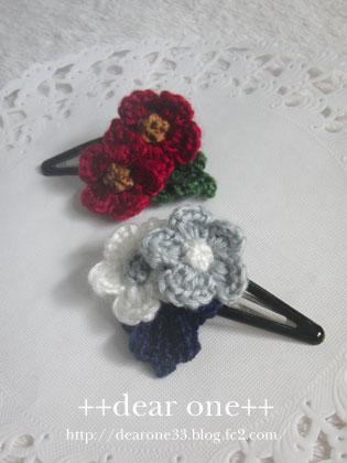 ちいさなお花のヘアアクセサリー160405_4