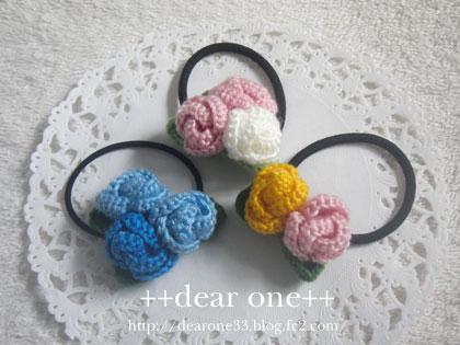 ちいさなお花のヘアアクセサリー160405_2