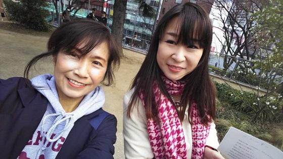 香山リカ「渋谷宮下公園に到着~!雨宮処凜さんもいらしてます!」