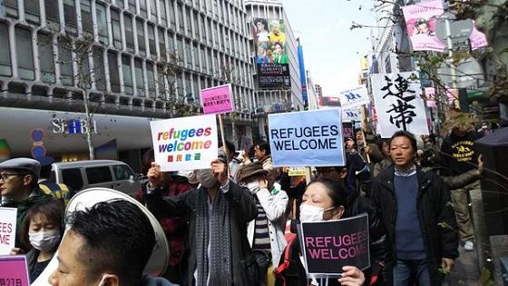 香山リカ「難民条約いますぐ守ろう!」