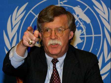 共和党ブッシュ前政権で国務次官や国連大使を務め、核兵器拡散防止をも担当したジョン・ボルトン氏