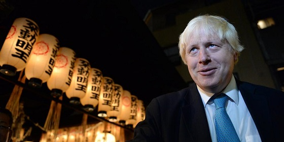 """Mayor's trade mission to Japanロンドン市長の出張と比べ、舛添知事の""""豪遊""""っぷり"""