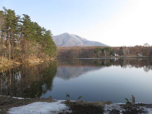 3月30日  飯綱湖