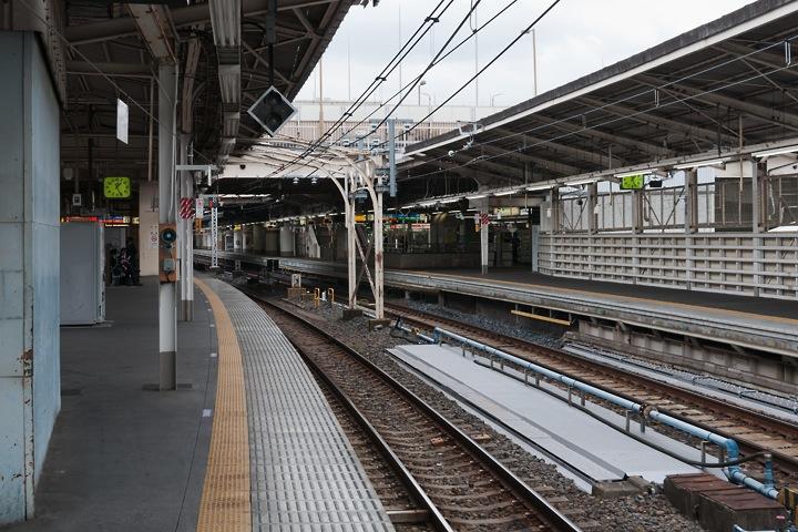 上野駅8番線201511-1