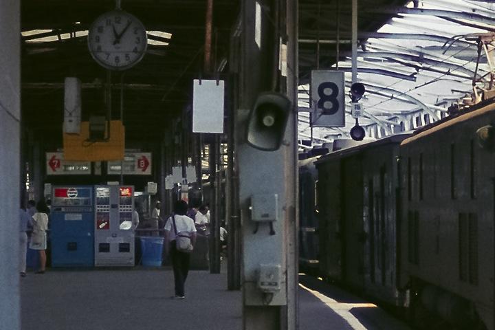 上野駅8番線再スキャン拡大