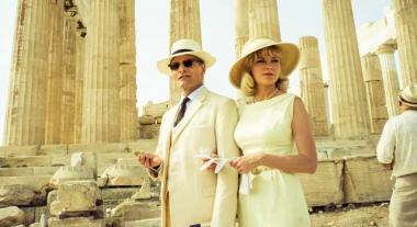 ホセイン・アミニ 『ギリシャに消えた嘘』 チェスター(ヴィゴ・モーテンセン)とその妻コレット(キルステン・ダンスト)。いかにも裕福そうなふたり。