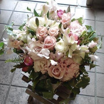 2011年4月 母から同僚さんへの退職祝い