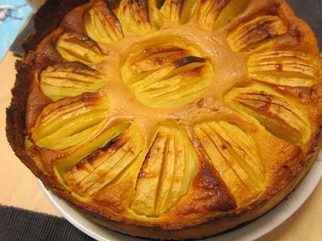 アルザス風リンゴケーキ