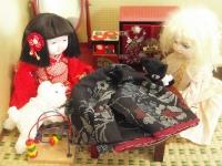 黒猫「縫い目がガタガタ~」