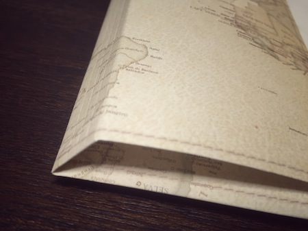 .carto地図柄ブックカバー - 折