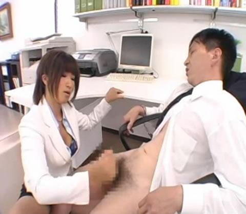 巨乳上司の連射懲罰