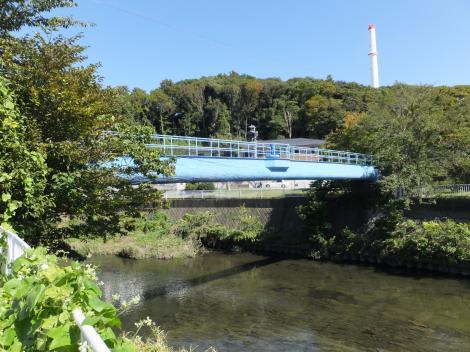 引地川水管橋(湘南東配水本管)