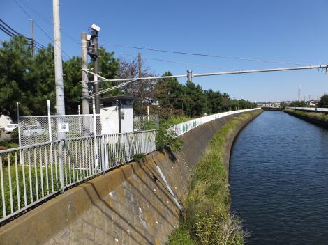 太平橋水位観測所