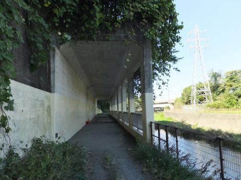 古淵鵜野森公園下の洞門