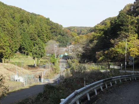 本沢源流・雨降林道・城山湖野球場入口付近