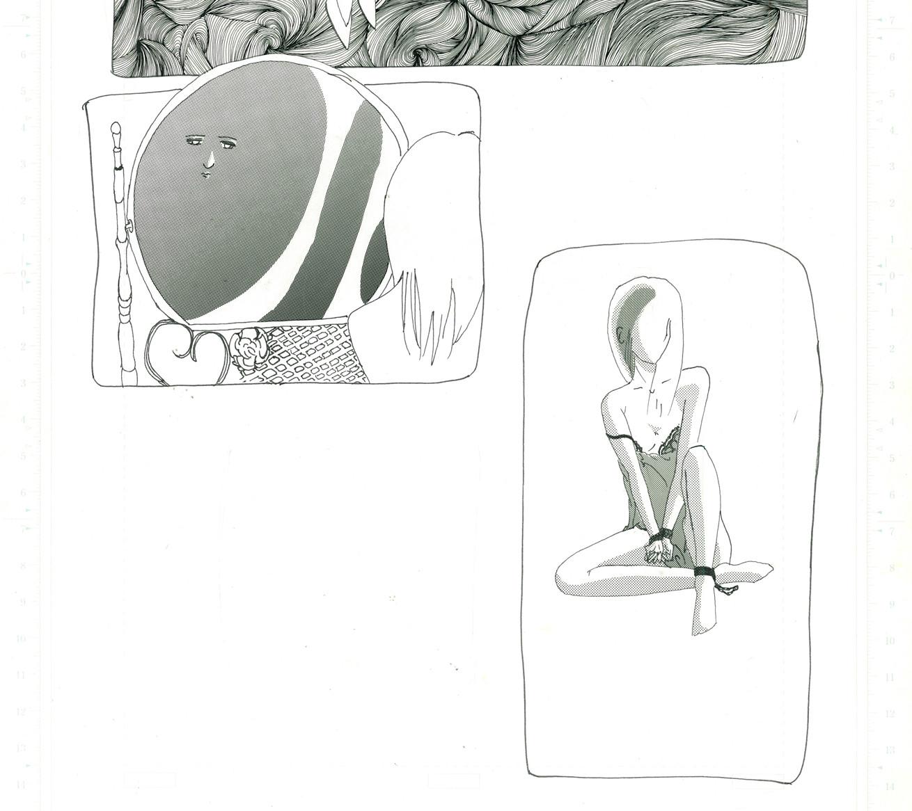 Last Scene 08 鏡と女性