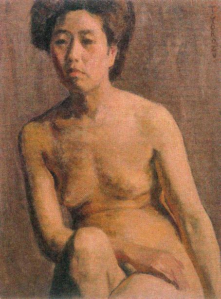 20151023 萬鉄五郎 裸婦習作 1909 16㎝