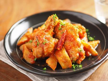 鶏とごぼうのトマト煮カチャトーt24