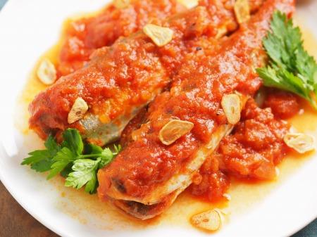 ウルメイワシのトマト煮t13