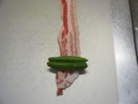 スナップエンドウの豚バラ巻きt01
