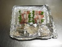 スナップエンドウの豚バラ巻きt11