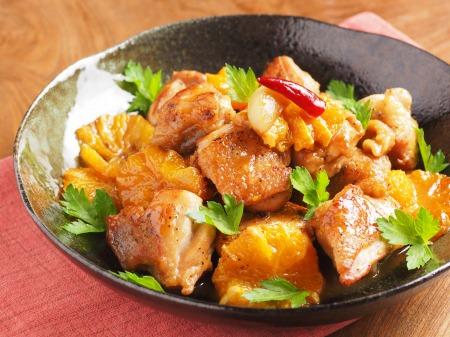鶏もも肉のオレンジ煮t13