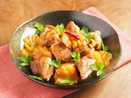 鶏もも肉のオレンジ煮t18