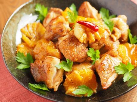 鶏もも肉のオレンジ煮t19