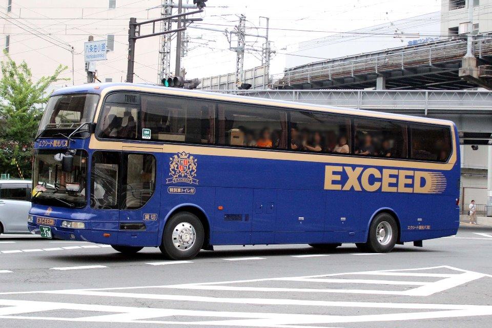 エクシード観光バス か528