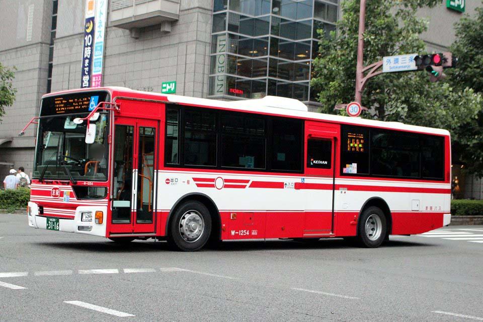 京阪バス W-1254