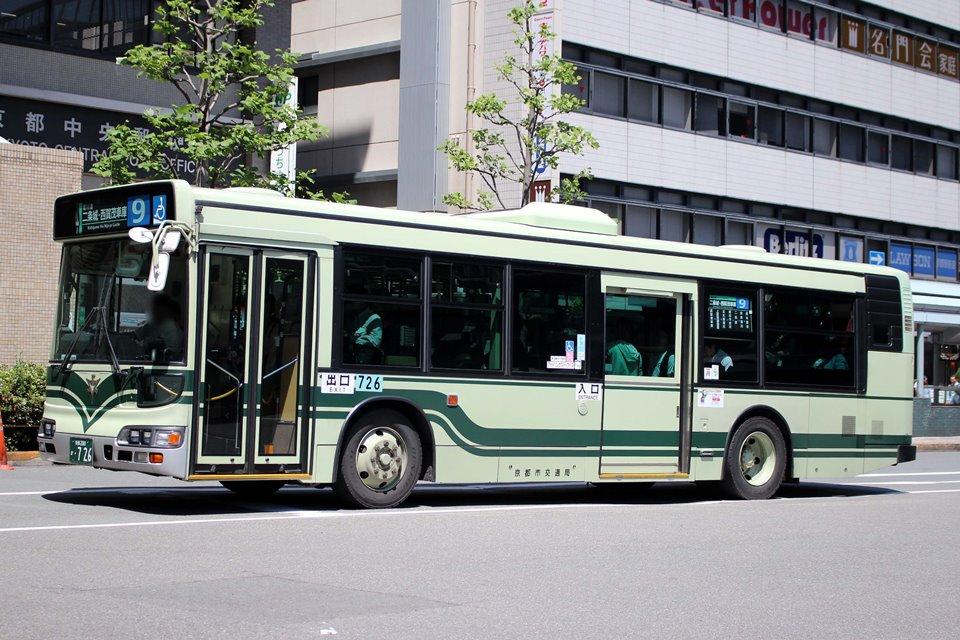 京都市交通局 か726