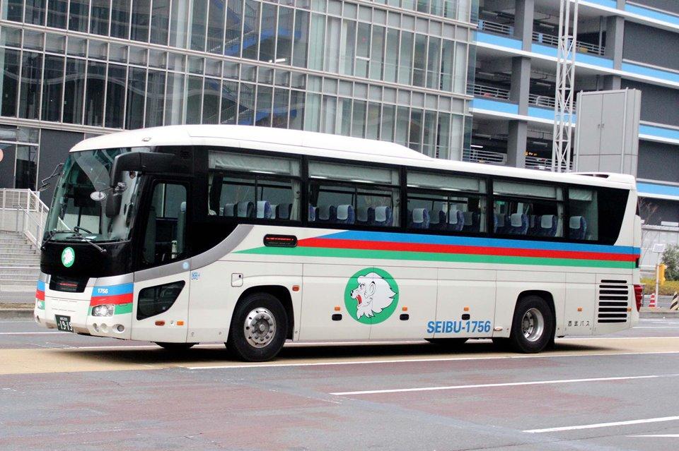 西武バス 1756