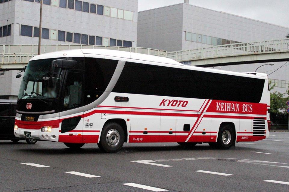 京阪バス H-3878