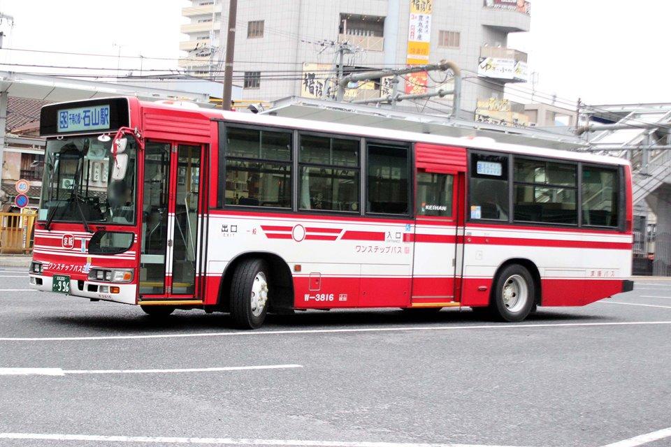 京阪バス W-3816