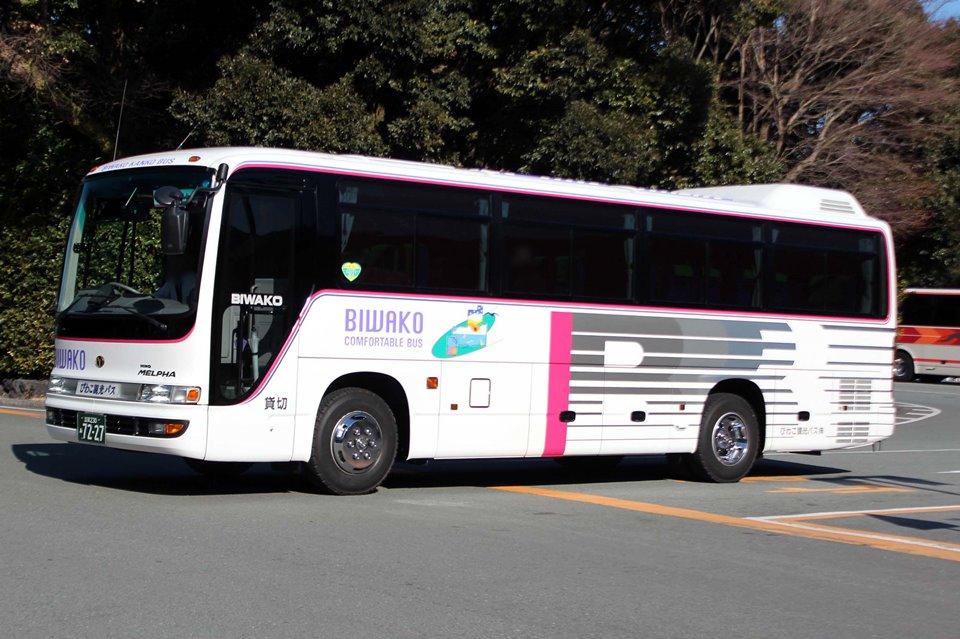 びわこ観光バス あ7227