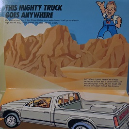 This mighty truck goes anywhere.